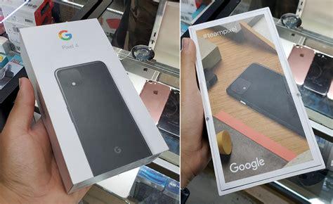 pixel  packaging shown   latest leak phonedog