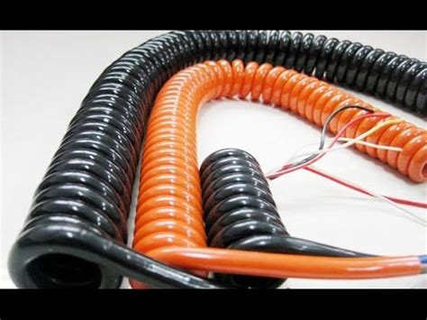 Headphone Wire Spiral by Turn Any Cable Into A Spiral Cable Dr Noob S Lab