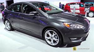 Ford Focus Titanium 2017 : 2017 ford focus sedan titanium exterior and interior walkaround 2016 la auto show youtube ~ Medecine-chirurgie-esthetiques.com Avis de Voitures