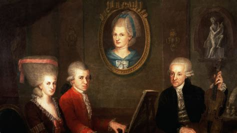 What Mozart Really Looked Like 14 Portraits Of The