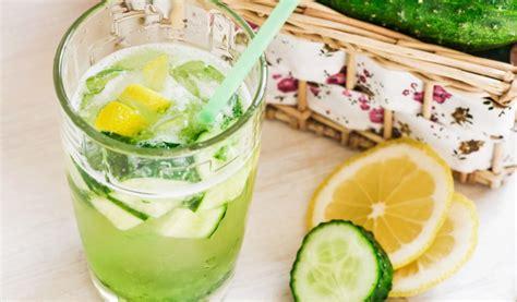 Receptes.lv - Gurķu limonāde