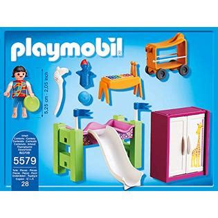playmobil chambre parents playmobil city children 39 s room with loft bed slide