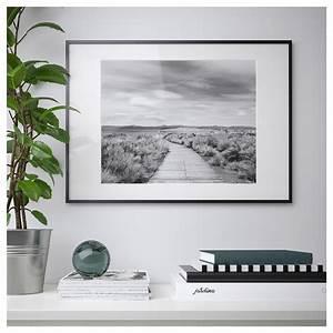 Cadre Noir Ikea : lomviken cadre noir 50 x 70 cm ikea ~ Teatrodelosmanantiales.com Idées de Décoration