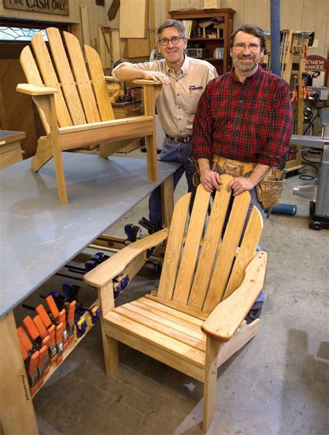 woodwork build adirondack chairs free pdf plans