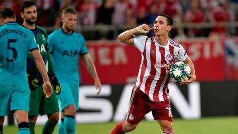 Olympiakos 2-2 Tottenham: Spurs throw away two-goal lead ...