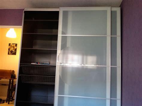 impressionnant porte coulissante vitr 233 e ikea avec armoire design portes coulissantes galerie