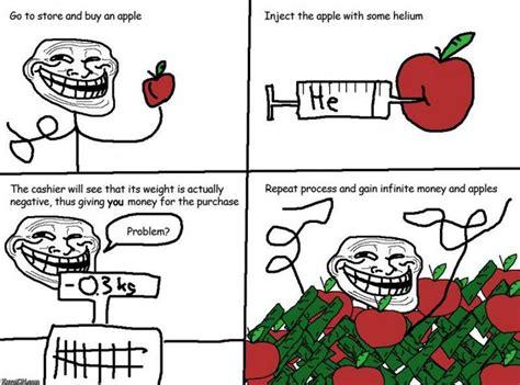 Trolls Memes - troll science problem