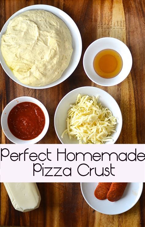 pizza how to make the pizza crust