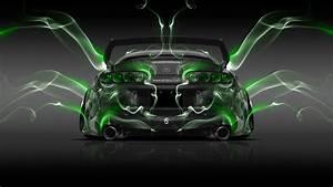 Toyota Supra JDM Back Smoke Car 2014 el Tony