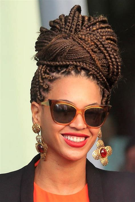 iconic box braids hairstyles