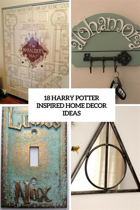 harry potter home decor 18 harry potter inspired home d 233 cor ideas shelterness