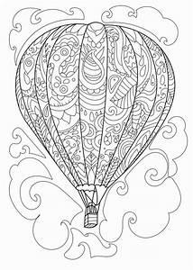hot air balloon coloring page para colorear air With hotairschematic