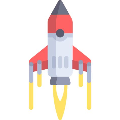 Boat Launch Icon by Rocket Ship Launch Free Technology Icons