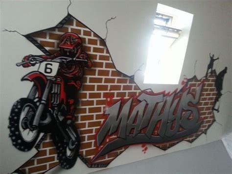 graff chambre davaus graffiti pour chambre garcon avec des idées