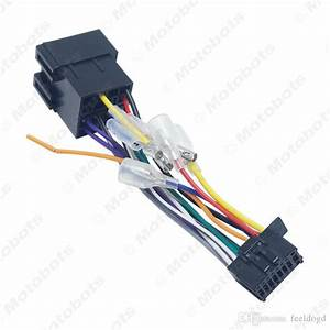 2020 Car Stereo Radio Iso 16 Pin Pi100 Wire Harness