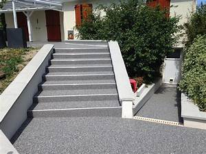 Revetement Escalier Exterieur : 10 rev tements de sol en r sine faites vous votre propre ~ Premium-room.com Idées de Décoration