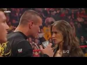 Randy Orton and Stephenie Mcmahon 6/12/2009 - YouTube