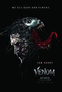 "Venom 2018  Movie Banner  27"" X 40"" Top Quality Vinyl"