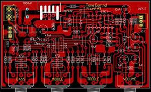 Tone Control Tl084 Project A3