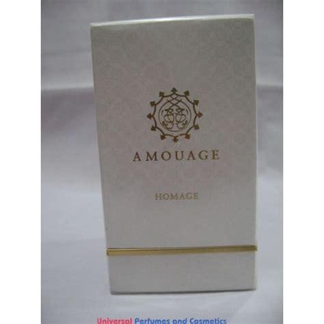 amouage homage attar perfume oil  amouage ml sealed