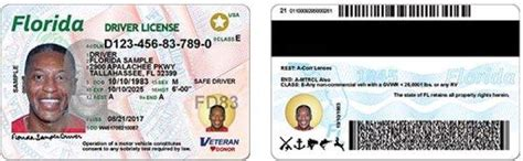 New Florida Driver's Licenses  And New Security Features
