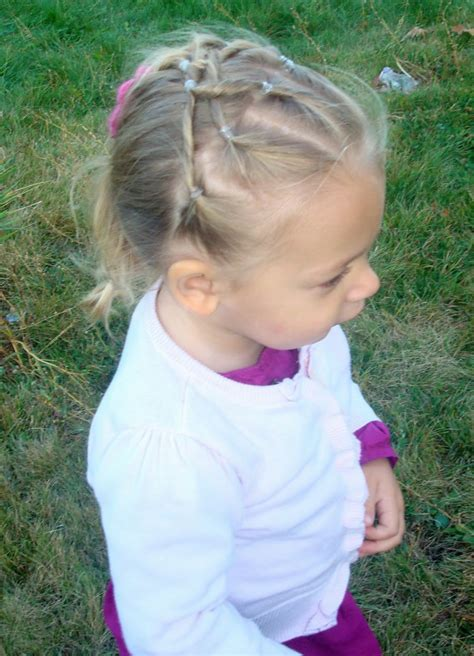pictures  kids hairstyles  rubber bands