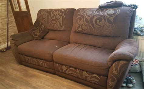 Cheap 3 2 Seater Sofa Deals by Cheap Sofa 3 2 1 Seater From Dfs In Prestwich