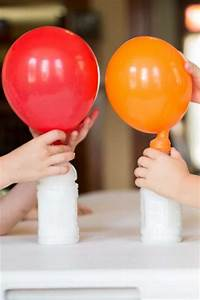 Blowing up a Balloon with Baking Soda and Vinegar - Cool!