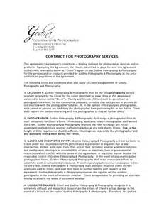 wedding photography contract photography contract