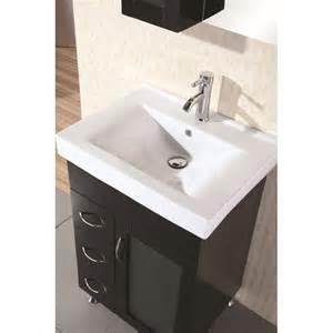 24 Inch Single Sink Bathroom Vanity