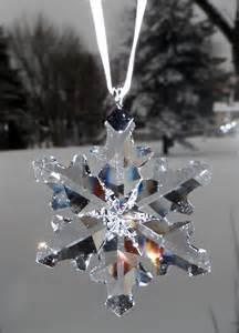 swarovski swarovski 2012 christmas ornament little snowflake 1139969 swarovski crystal