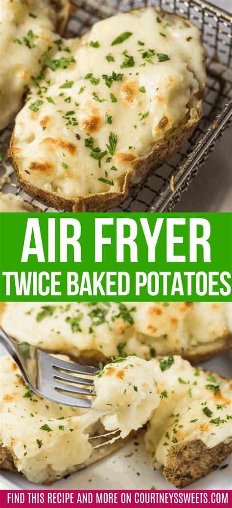 fryer air potatoes baked twice recipes appetizers courtneyssweets vegetarian recipe cheesy delicious favorite these courtney sweets spuds perfecthomeideas journal club