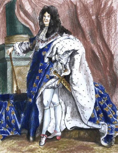 king louis xiv  france people drawings pictures