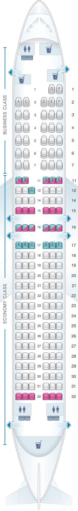Seat Map South African Airways Boeing B737 800 Best