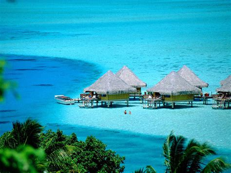 Beautiful Island Tourism Tahiti French Polynesia