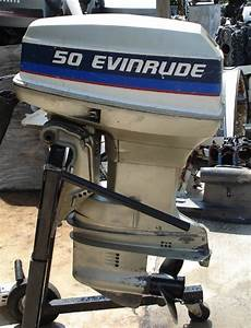 50hp Evinrude Short Shaft Outboard