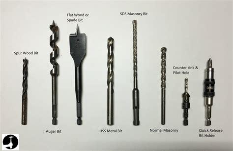 drill bits  types