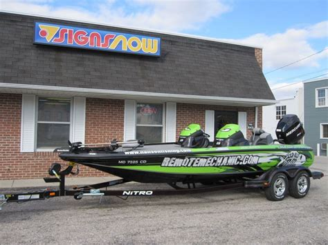 Boat Wraps Kentucky by Custom Boat Graphics Decals Signs Now Sacramento
