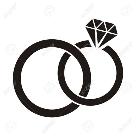 engagement ring clipart clipartioncom
