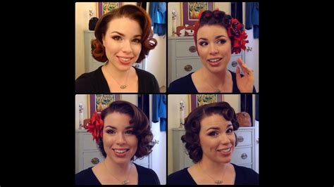 1950s Hairstyles For Medium Length Hair by Easy 50 S Pin Curl Styles For Shoulder Length Hair