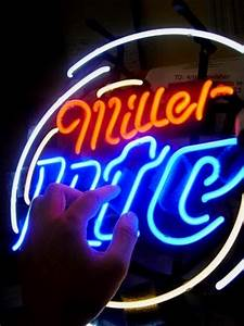 Wiki Neon Sign Blog MILLER LITE BEER BAR CLUB NEON LIGHT
