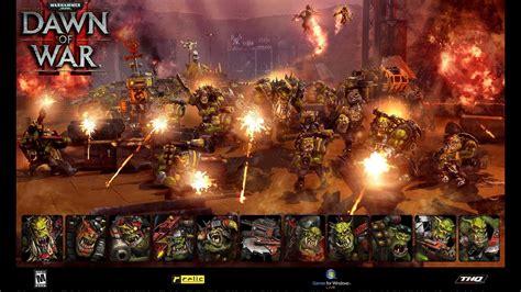 dawn  war orc ork games workshop wallpaper