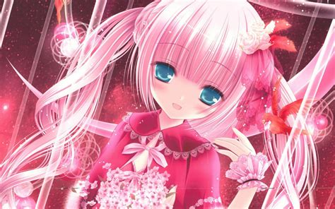 Pink Anime Wallpaper - pink anime wallpapers 72