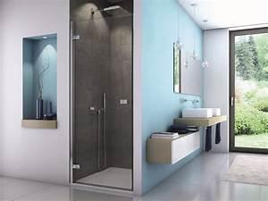 Duschtür 80 Cm : dusche nischent r 80 x 200 cm duscht r barrierefrei rahmenlos ~ Orissabook.com Haus und Dekorationen