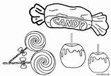 Candy Coloring Pages Cotton Printable Peppermint Everfreecoloring Cool2bkids Fun Getdrawings Getcolorings Colorin sketch template