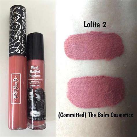 kat von lolita ii everlasting liquid lipstick dupes