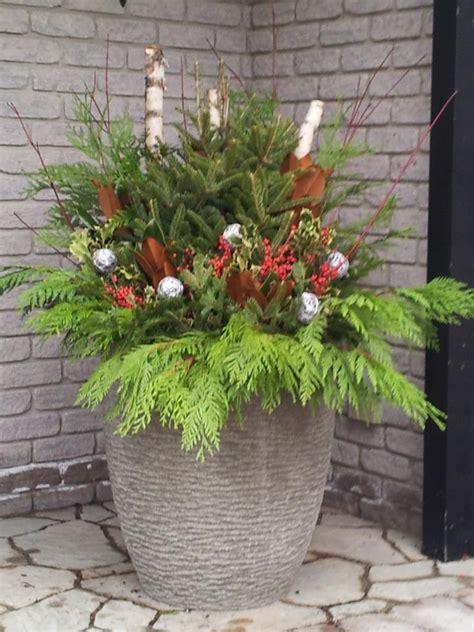 images  christmas   seasonal planters