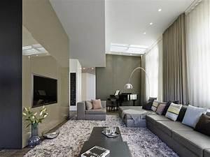 Lampadaire Salon Design : d coration et design du salon moderne en 107 id es superbes ~ Preciouscoupons.com Idées de Décoration