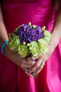 Purple hydrangea and sage green rose bouquet, Photo | 280 ...