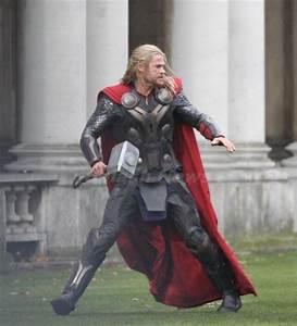 Battle-Damaged Thor Appears On Thor The Dark World Set